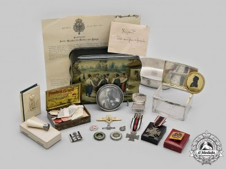 Germany, Imperial. The Awards & Personal Effects of Prince Waldemar of Prussia