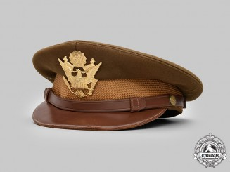United States. An Army Service Cap for General Officers,  Captain O.E. Dinnis, by Block's, c.1945