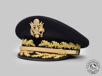 United States. An  Army Service Dress Cap for General Officers, Major General Chiles, by Flight Ace