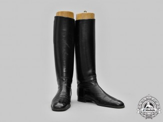 Germany, SS. A Pair of Allgemeine SS Officer's Leather Boots