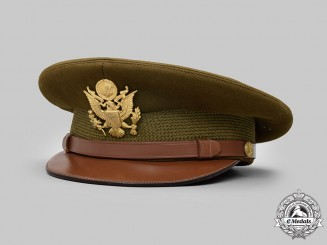 United States. An Army Service Cap for General Officers, Named to Major Haven E. Southworth, c.1945