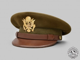 United States. An Army Service Cap for General Officers, Un-Namedm, by Dunlap, New York, c.1945