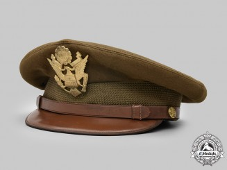 United States. An Army Service Cap for General Officers, Named to Major Anthony J. Peppe