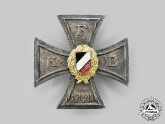 Germany, Weimar Republic. An Honour Cross of the German Front Fighters' Association, by Deschler & Sohn
