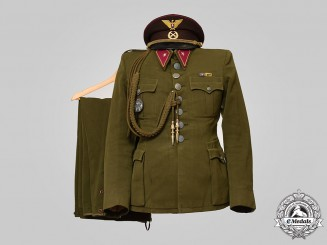 Slovakia, I Republic. A Slovak Expeditionary Group Service Uniform, Schnell Division