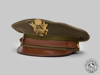 United States. An Army Service Cap for General Officers, Initialed, by Roos Bros, c.1945