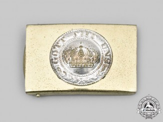 Germany, Imperial. A Heer Small Variant M1895 EM/NCO's Belt Buckle