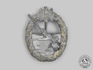 Germany, Kriegsmarine. A Coastal Artillery War Badge, by Hermann Aurich