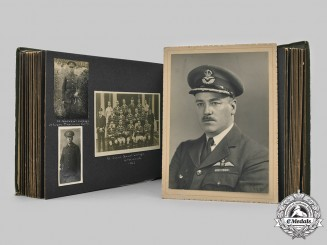 United Kingdom. Family Photo Album, Group Captain Hodgson, RNAS, RFC, RAF