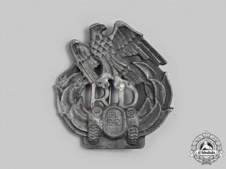 Germany, Wehrmacht. A Slovakian Schnelle Division Badge