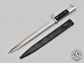 Germany, Heer. A Dress Bayonet, by Ernst Pack & Söhne