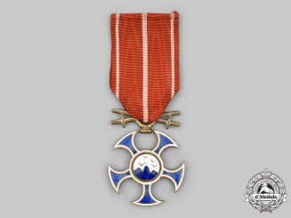 Czechoslovakia, Republic. An Order of the Falcon with Swords