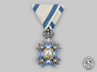 Serbia, Kingdom. An Order of St. Sava, V Class Knight, c.1930