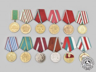 Bulgaria, People's Republic. A Lot of Twelve Awards