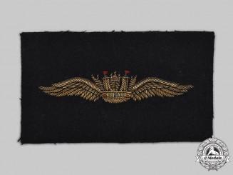 United Kingdom. A Merchant Navy Wings Blazer Patch