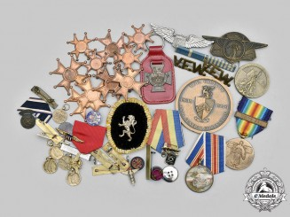 United States, International. A Lot of Forty-Nine Miscellaneous Items