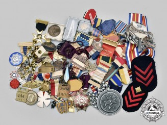 United States, International. A Lot of Ninety-Four Miscellaneous Items