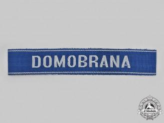 Slovakia, Republic. A Home Guard Cuff Title, c.1944