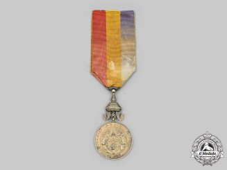 Cambodia, Kingdom. Medal of Sisowath I, I Class, Gold Grade