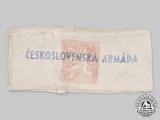Czechoslovakia, Republic. A Conclusion Czechoslovak Army Armband 1945