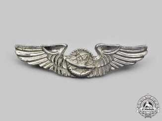 United States. An Army Air Force (USAAF) Navigator Dress Wings