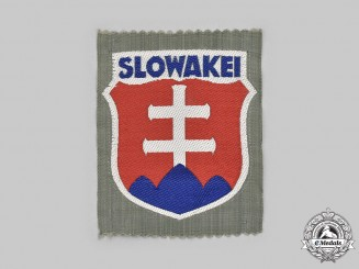 Germany, OT. An Organisation Todt Slovakian Labourer's Arm Shield