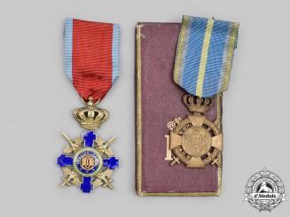 Romania, Kingdom. Two Awards