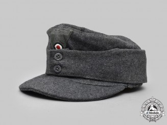 Germany, Heer. An EM/NCO's M43 Field Cap, by Hermann Potthoff