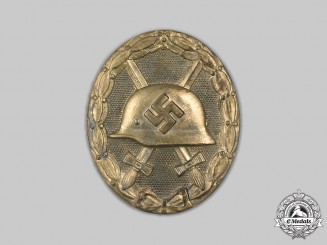 Germany, Wehrmacht. A Gold Grade Wound Badge, by the Vienna Mint