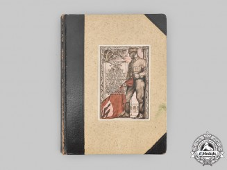 Germany, NSDAP. A Superb Private Nuremberg Rally Photo Album Signed by A.H.