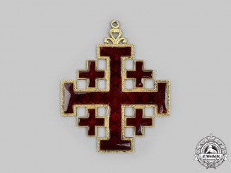Vatican. An Equestrian Order of the Holy Sepulchre of Jerusalem, Commander, c.1935