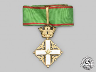 Italy, Republic. An Order of Merit of the Italian Republic, III Class Commander, c.1960