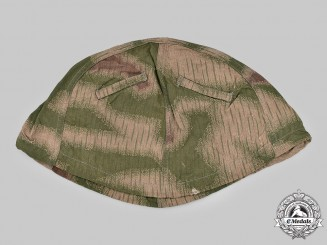 Germany, Wehrmacht. A 44 Marsh Pattern Camouflage Helmet Cover