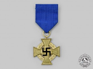 Germany, Third Reich. A Civil Service Long Service Cross, I Class for 40 Years