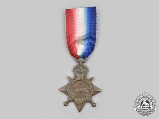United Kingdom. A First War 1914-15 Star, to Corporal Charles B. Shaw, Royal Field Artillery