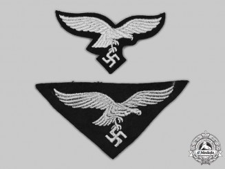 Germany, Luftwaffe. A Pair of Eagle Insignia