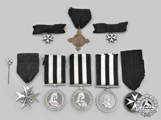 United Kingdom. A Lot of Eight Order of St. John Awards