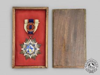 China, Republic. An Order of the Resplendent Banner, VI Class Officer, IV Grade, c.1935