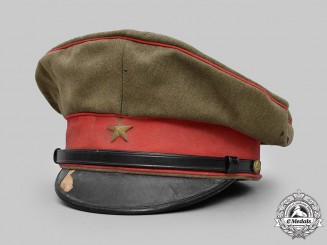 Japan, Imperial. A Second War Visor Cap, c.1941