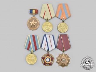 Romania, Socialist Republic; Russia, Soviet Union. A Lot of Six Awards