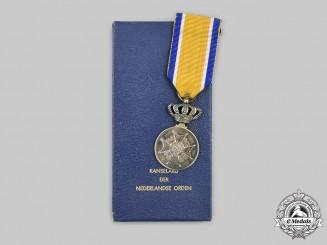 Netherlands, Kingdom. An Order of Orange-Nassau, Civil Division, Silver Grade Medal, c.1960