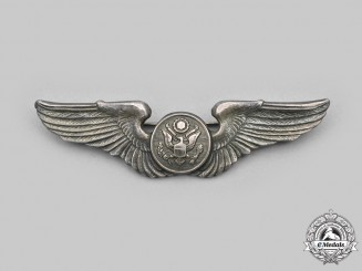 United States. An Army Air Force (USAAF) Enlisted Man's Aircrew Badge, c.1944