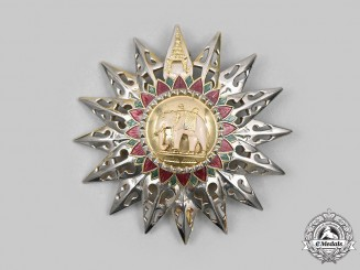 Thailand, Kingdom. An Order of the White Elephant, II Class Grand Commander Star, c.1960