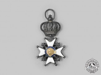 France, Kingdom. A Decoration of the Lily, Silver Cross c. 1815