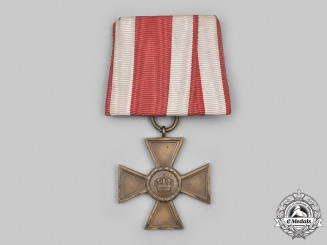 Hesse, Grand Duchy. A Long Service Cross, I Class for 15 Years