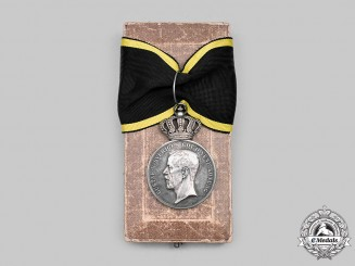 Sweden, Kingdom. A Royal Pro Patria Medal for Fidelity and Diligence 1918, II Class Silver Grade