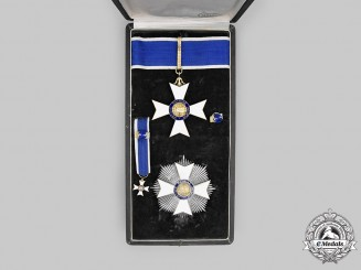 Brazil, Kingdom. An Order of Rio Branco, Grand Officer Set in Case, by H. Stern