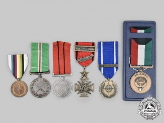 Kuwait, Tanzania, Transkei, Zaire, NATO, OAS. A Lot of Six Medals