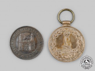 Germany. A Pair of Commemorative Medals