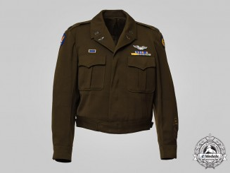 United States. An Army Air Forces Jacket, to Captain (later Lieutenant Colonel) Clifford L. Peterson, c.1945